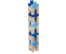 [3D stavebnica modrá]