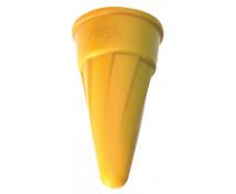[Formička - Zmrzlinový kornútok, žltý]