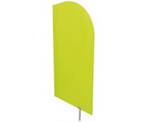 [Dělící stěna zelená 54 x 101 cm]
