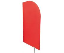 [Dělící stěna červená 54 x 101 cm]