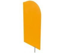 [Dělící stěna oranžová 54 x 101 cm]