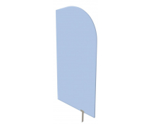 [Dělící stěna modrá 54 x 101 cm]