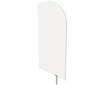 [Dělící stěna bílá 54 x 101 cm]