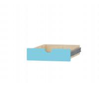 [Séria Feria - zásuvka s otvorom, malá,modrá]
