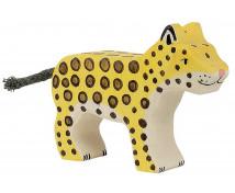 [Drevené divé zvieratká - Mláďa geparda DOPREDAJ]