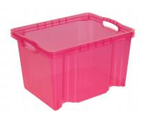 [Plastový kontejner - růžový]