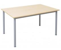 [Kancelářský stůl s kovovými nohami, 140 x 80 cm]