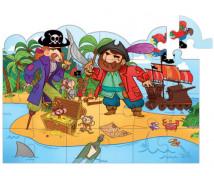 [Vertikální / Okenní puzzle - Piráti]