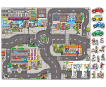 [Velké podlahové puzzle - Velké město]