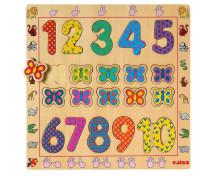 [Vkládací puzzle Počítání 1 - 10]