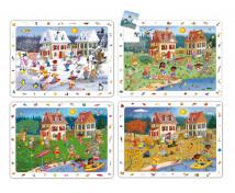 [Sada objevných puzzle - 4 Roční období (24 dilné)]