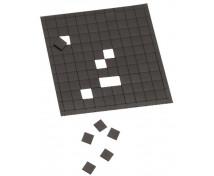 [Samolepicí magnetické čtverečky - 1 x 1 cm]
