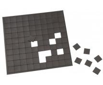 [Samolepicí magnetické čtverečky - 2 x 2 cm]