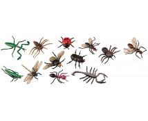 [Plastová zvířátka-Hmyz 12 ks]