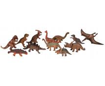 [Plastová zvířátka-Dinosauři 12 ks]