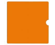 [Dvířka Numeric - oranžové]