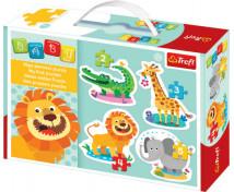 [Baby puzzle - Zvířatka ze safari]