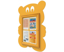 [Tématická vitrína - Medvídek/žlutý]