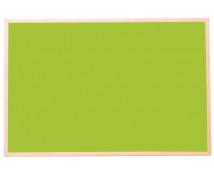 [Korková tabule-barev.1 60 x 90 cm - Zelená]