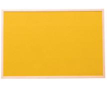 [Korková tabule-barev.1 60 x 90 cm - Žlutá]