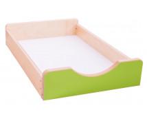 [Dřevěný úložný box Numeric - Malý - zelený]