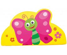 [Vykrojená molitanová aplikace malá - Motýl (43 cm)]