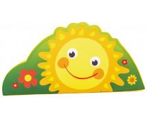 [Vykrojená molitanová aplikace malá - Sluníčko (40 cm)]