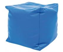 [Kostka na sezení s granulátem - modrá]