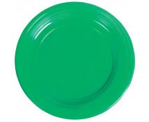 [Plastové talíře - zelené - 10 ks]