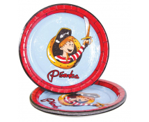 [Papířové talíře - pirát, 10 ks]