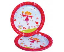[Papírové talíře - princezna - 10 ks]