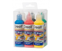 [3D Barvy tvůrčí 6x80 ml]
