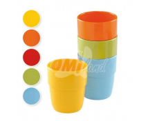[Malý pohárek- 0,23 l - oranžový]