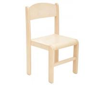 [Dřevěná židle JAVOR 38 cm natural]