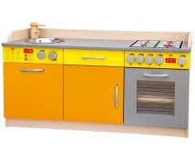 [Elegantní kuchyňka MIDI-oranžovo-žlutá]