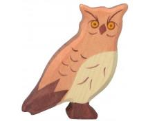 [Drevěná lesní zvířátka - Sova]