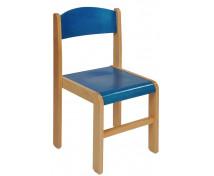[Dřevěná židlička BUK 31 cm - modrá]