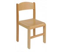 [Dřevěná židlička BUK 35 cm - natural]