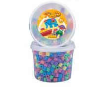 [Maxi korálky v kyblíku - pastelové barvy 600]