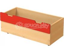 [Box dřevěný velký - červený]
