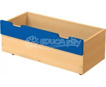[Box dřevěný velký - modrý]