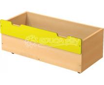 [Box dřevěný velký - žlutý]
