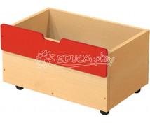 [Box dřevěný střední na 2+1 - červený]