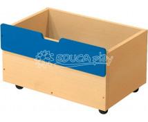 [Box dřevěný střední na 2+1 - modrý]