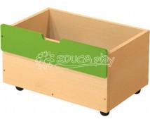 [Box dřevěný střední na 2+1 - zelený]