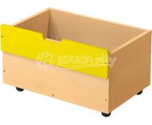 [Box dřevěný střední na 2+1 - žlutý]