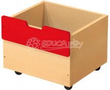[Box dřevěný malý - červený]