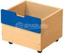 [Box dřevěný malý - modrý]