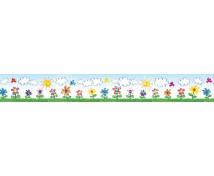 [Dekorační pásky- Luční květy]