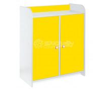 """[Skříňky  """"L""""  s dvířky  1100  - žlutá]"""